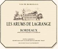 Les Arums de Lagrange Bordeaux Blanc 2004...